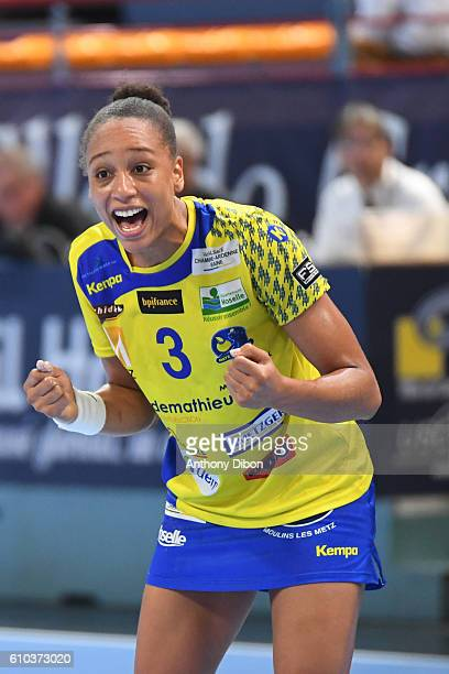 Beatrice Edwige of Metz during the Division 1 match between Issy Paris and Metz on September 25 2016 in Creteil France