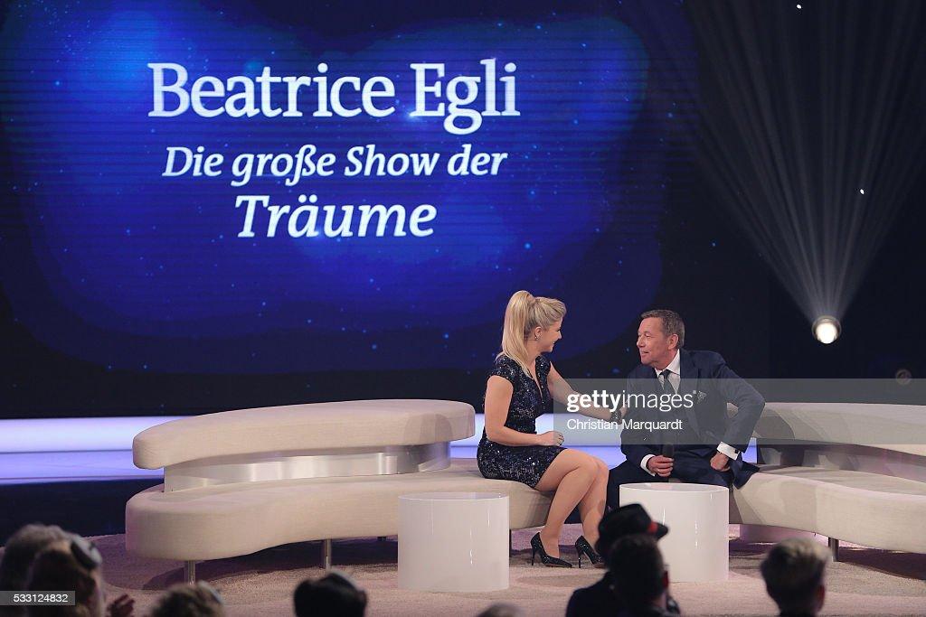 'Beatrice Egli - Die grosse Show der Traeume' From Berlin : Fotografía de noticias