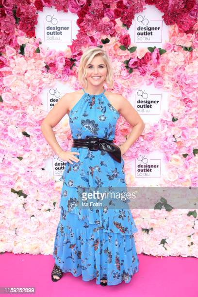 Beatrice Egli at the Late Night Shopping event at Designer Outlet Soltau on August 2 2019 in Soltau Germany