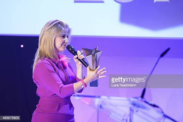 Beatrice Egli attend the 'Mein Star des Jahres 2014' awards at Kehrwieder Theater on September 16 2014 in Hamburg Germany