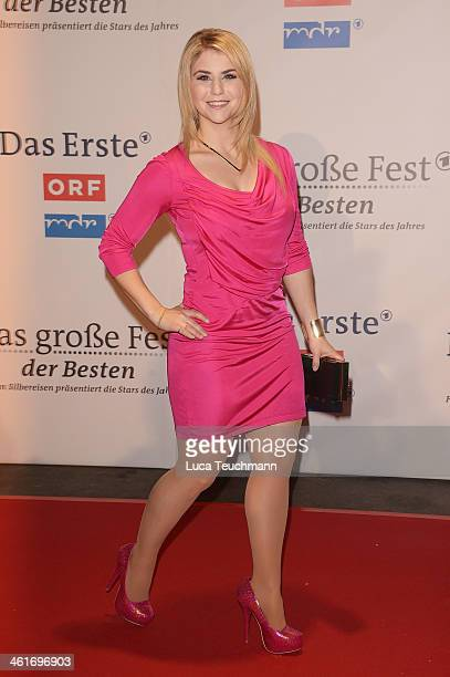 Beatrice Egli attends 'Das grosse Fest der Besten' at Velodrom on January 10 2014 in Berlin Germany