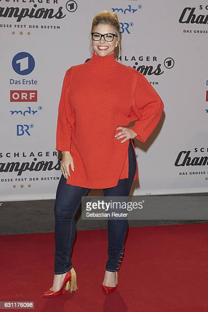 Beatrice Egli attends the 'Das grosse Fest der Besten' tv show at Velodrom on January 7 2017 in Berlin Germany