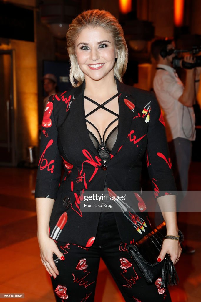 Beatrice Egli attends the Echo award after show party on ...