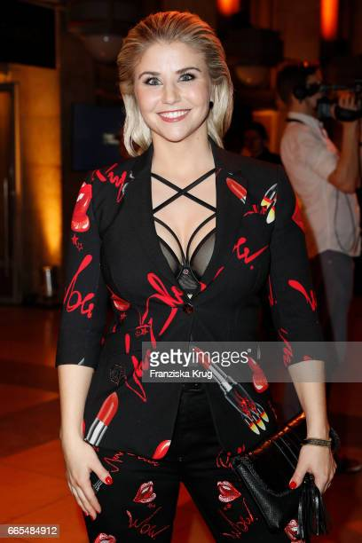 Beatrice Egli attends the Echo award after show party on April 6 2017 in Berlin Germany