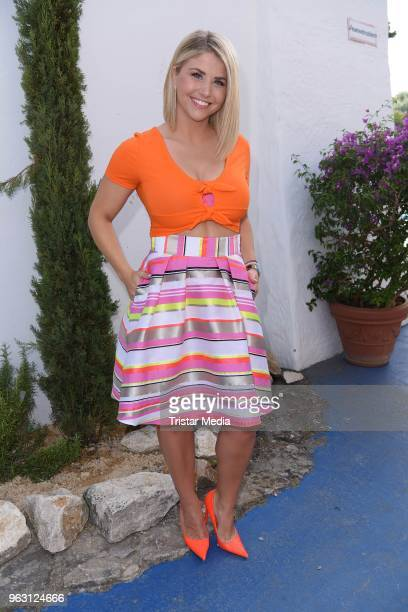 Beatrice Egli during the 1st show of the season of the TV show 'Immer wieder sonntags' at Europa Park on May 27 2018 in Rust Germany