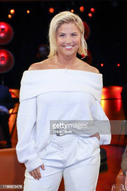 Beatrice Egli during the NDR Talk Show on January 10 2020 in Hamburg Germany