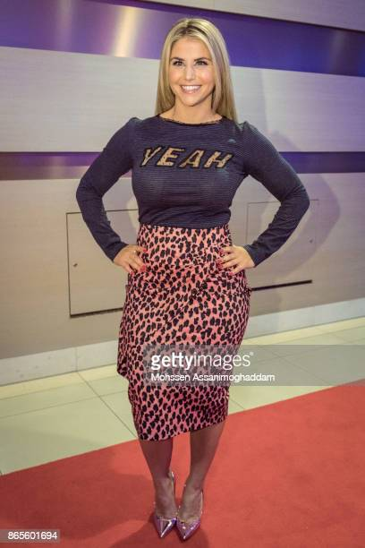 Beatrice Egli during the show 'Das Internationale Schlagerfest' at Westfalenhalle on October 21 2017 in Dortmund Germany