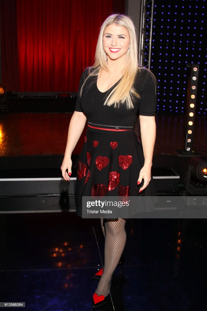 Beatrice Egli during the TV Show 'Meine Schlagerwelt - Die Party' hosted by Ross Antony on January 30, 2018 in Leipzig, Germany.