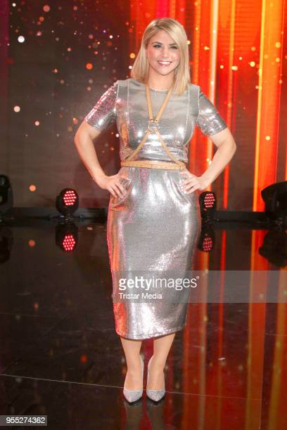 Beatrice Egli during the tv show 'Willkommen bei Carmen Nebel' at SachsenArena on May 5 2018 in Riesa Germany
