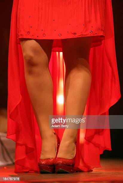 Beatrice Egli performs at Huxleys Neue Welt on October 16 2013 in Berlin Germany