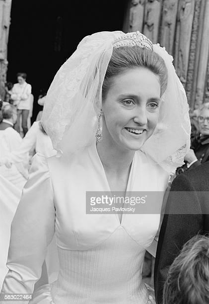 Beatrice of HabsburgLotrigen Countess of Paris on her wedding day