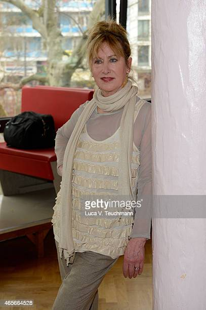 Beatrice Richter poses at a photo call for the television competition 'Let's Dance' on March 9 2015 in Berlin Germany On March 13th the show in which...