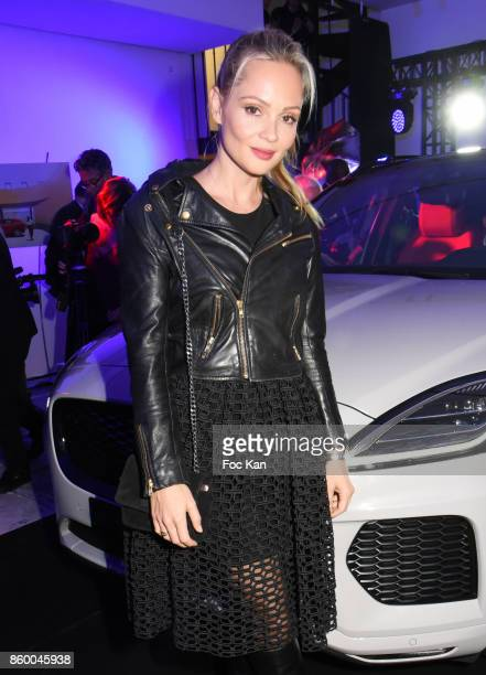 Beatrice Rosen attends the Jaguar E-Pace Launch Party at Studio Acacias on October 10, 2017 in Paris, France.