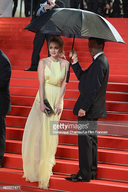 Beatrice Rosen attends the 'Maps To The Stars' Premiere at the 67th Annual Cannes Film Festival on May 19 2014 in Cannes France