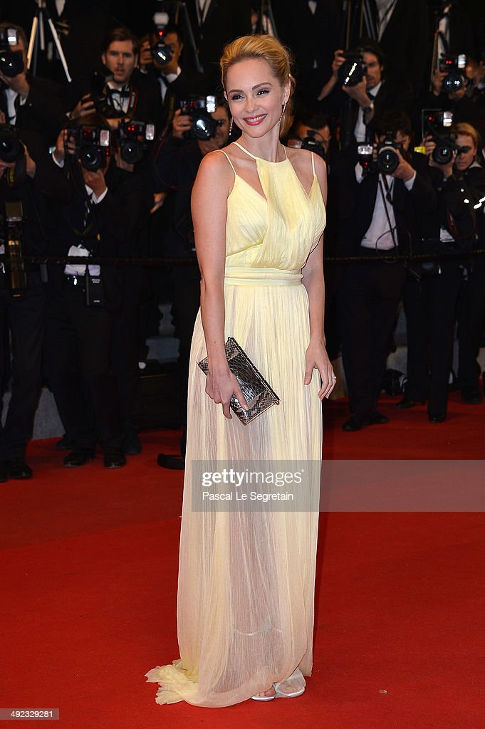Beatrice Rosen attends the 'Maps To The Stars' premiere during the 67th Annual Cannes Film Festival on May 19, 2014 in Cannes, France.