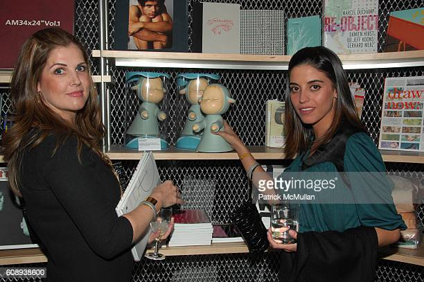 Beatrice Sanchez and Fernanda Gomez attend BOWERY BASH celebrating the grand opening of the NEW MUSEUM at New Museum NYC on November 30 2007
