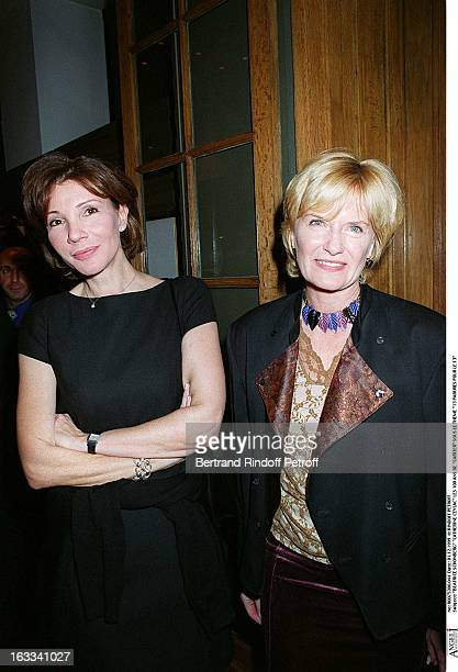 Beatrice Schonberg Catherine Ceylac at the13 Parures Pour Le 13 One Hundred Years Of Cartier Celebrated In Paris