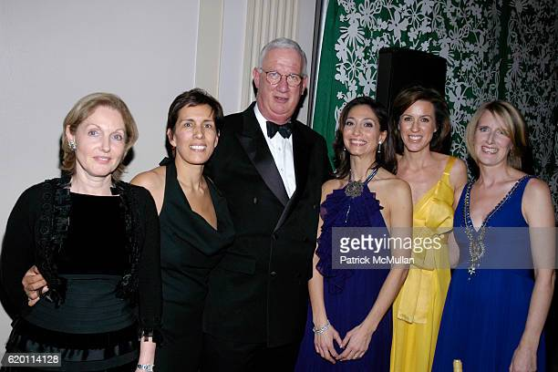 Beatrice Stern Cesaltine Gregorio CHugh Hildesley Alison Levasseur Melissa Meeschaert and Jennifer Banks Oughourlian attend LA VIE EN VERT GALA 2008...