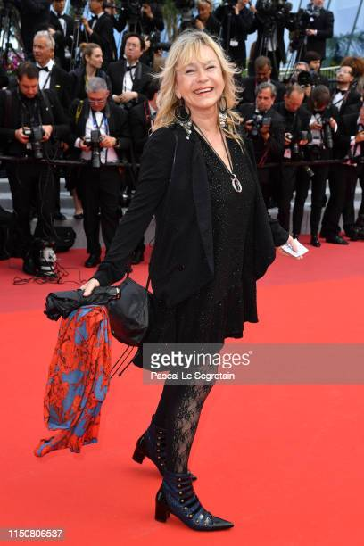 Beatrice ThomasWaschsberger attend the screening of Once Upon A Time In Hollywood during the 72nd annual Cannes Film Festival on May 21 2019 in...