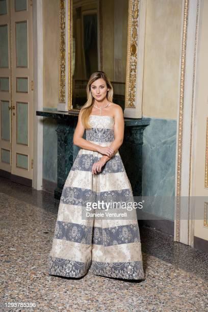 Beatrice Venezi attends 'Pensieri Illuminati' by Felice Limosani - Beatrice Venezi on December 30, 2020 in Milan, Italy.