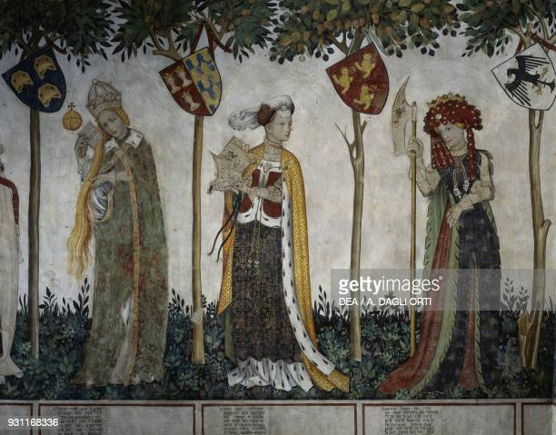 Beatrice Visconti wife of Frederick I depicted as Ethiope Riccarda of Sicily wife of Thomas II as Lampeto and Beatrice of Geneva wife of Frederick II...
