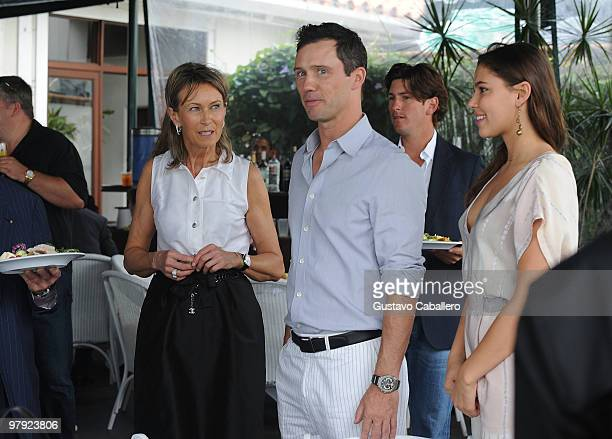 Beatrice Vuille-Willemetz, Jeffrey Donovan and Michelle Woods attend the Piaget Gold Cup at the Palm Beach International Polo Club on March 21, 2010...