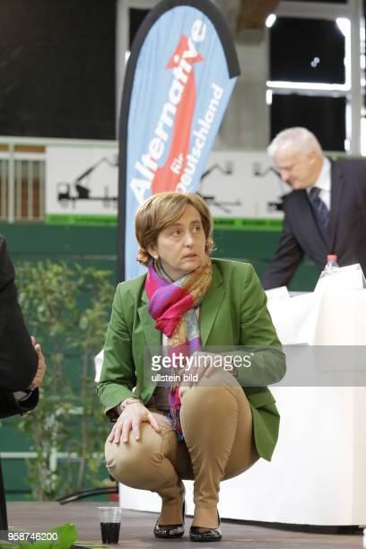 Beatrix Amelie Ehrengard Eilika von Storch geborene Herzogin von Oldenburg stellvertretende Bundesvorsitzende der AfD Deutschland Paaren im Glien...