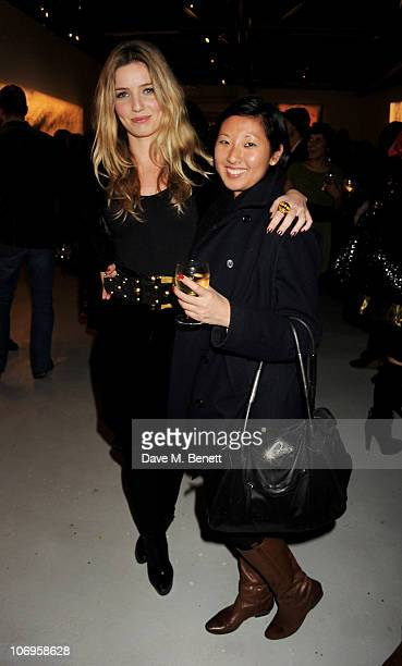 Beatrix Ong attends a private viewing of Richard Hambleton New York The Godfather Of Street Art at The Dairy on November 18 2010 in London England