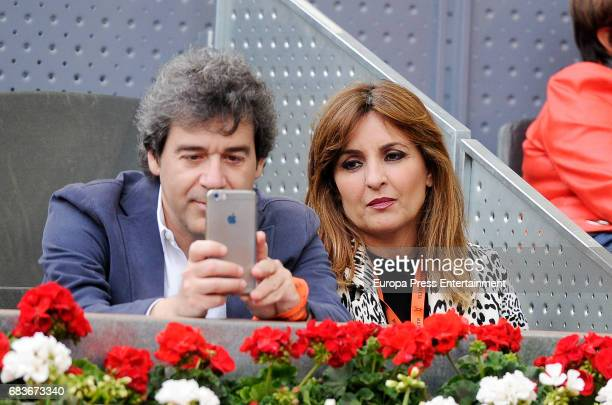 Beatriz Cortazar attends Mutua Madrid Open tennis at La Caja Magica on May 13 2017 in Madrid Spain