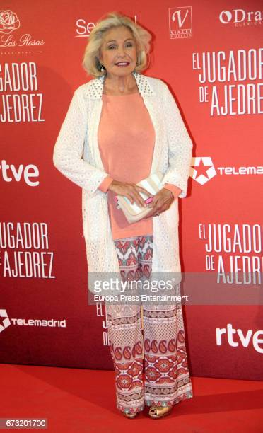 Beatriz de Orleans attend the 'El Jugador de Ajedrez' premiere at Gran Via cinema on April 25 2017 in Madrid Spain