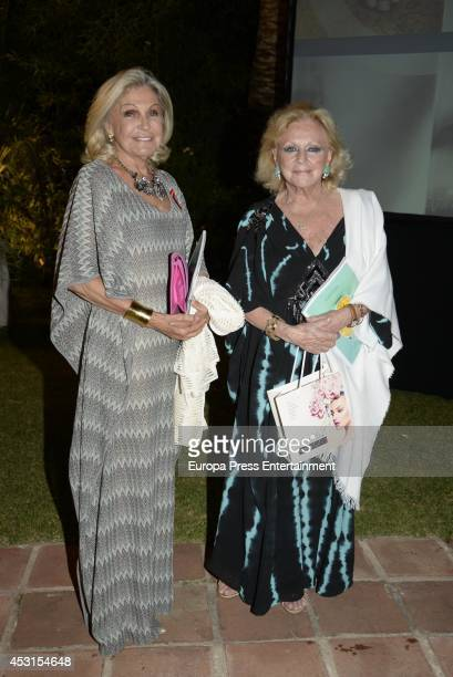 Beatriz de Orleans attends 'Concordia Charity Party' on August 1 2014 in Marbella Spain