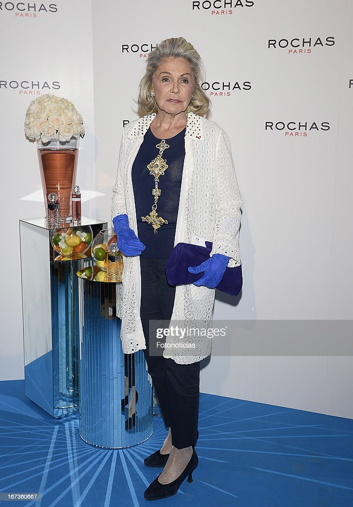 Beatriz de Orleans attends 'Tribut to Freshness and Rochas Women' event at the French embassy on April 24, 2013 in Madrid, Spain.