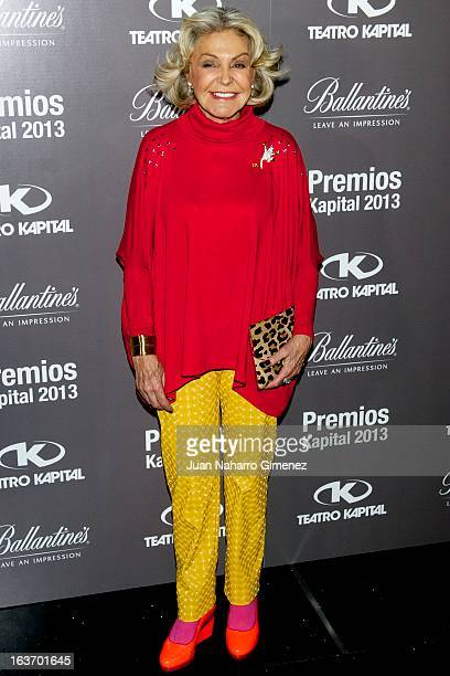 Beatriz D'Orleans attends the XI Teatro Kapital Awards at Teatro Kapital on March 14 2013 in Madrid Spain