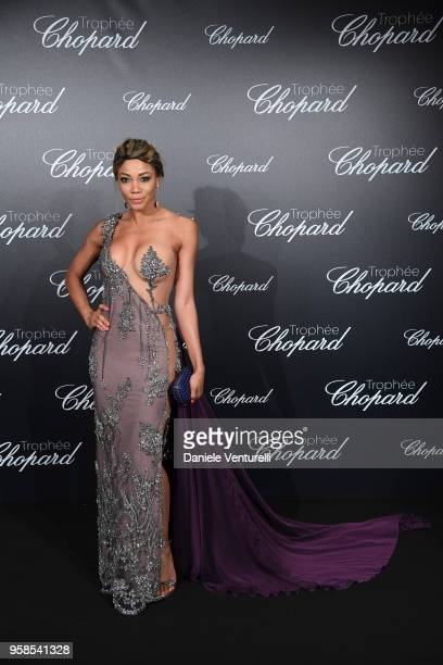 Beatriz Franck attends the Chopard Trophy during the 71st annual Cannes Film Festival at Martinez Hotel on May 14 2018 in Cannes France