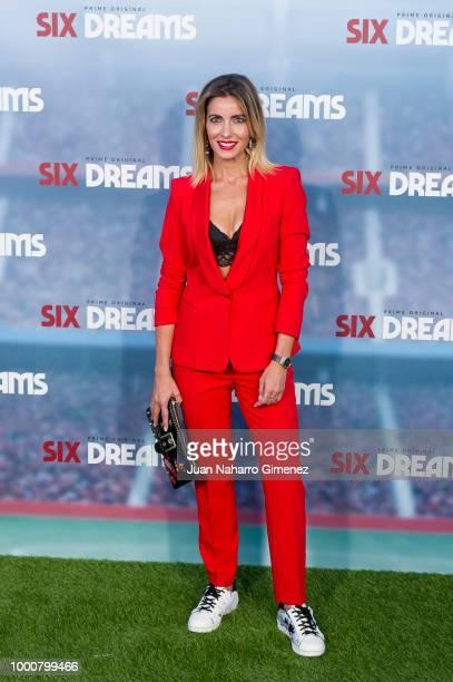 Beatriz Jarrin attends 'Six Dreams' premiere at Capitol Cinema on July 17 2018 in Madrid Spain