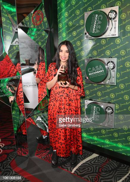 Beatriz Luengo attends the gift lounge during the 19th annual Latin GRAMMY Awards at MGM Grand Garden Arena on November 13 2018 in Las Vegas Nevada