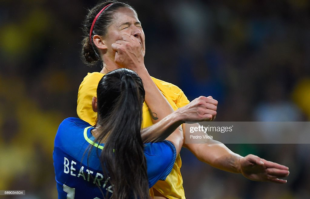 Brazil v Australia - Quarterfinal: Women's Football - Olympics: Day 7