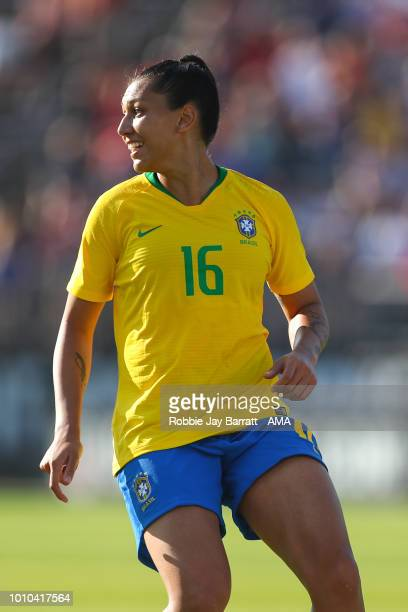 Beatriz of Brazil during the Tournament of Nations match between Japan and Brazil at Pratt Whitney Stadium on July 29 2018 in East Hartford...