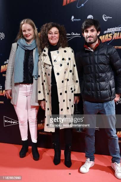 """Beatriz Perez Aranda attends """"Los Rodriguez y el mas allá"""" premiere on October 22, 2019 in Madrid, Spain."""