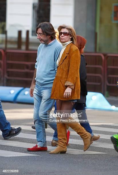 Beatriz Perez Aranda is seen on April 2, 2014 in Madrid, Spain.