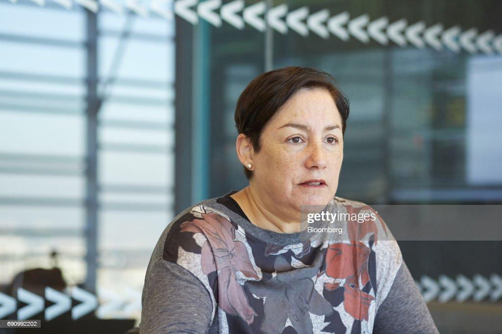 Chile's Presidential Candidate Beatriz Sanchez Interview : News Photo