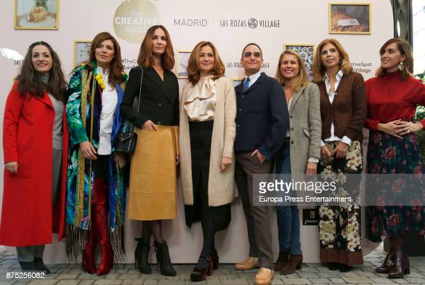 Beatriz Silveira Sara Galindo Eugenia Silva Josie and Maria Chavarri attend the opening of the pop up boutique 'The Creative Spot Madrid' at Las...