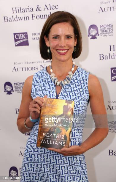 Beatriz Williams at the East Hampton Library's 15th Annual Authors Night Benefit on August 10 2019 in Amagansett New York