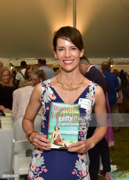Beatriz Williams attends Authors Night 2017 At The East Hampton Library at The East Hampton Library on August 12 2017 in East Hampton New York