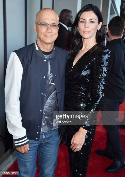 Beats by Dre Cofounder and Apple Music Executive Jimmy Iovine and model Liberty Ross attend the Los Angeles Premiere of Apple Music's CAN'T STOP...