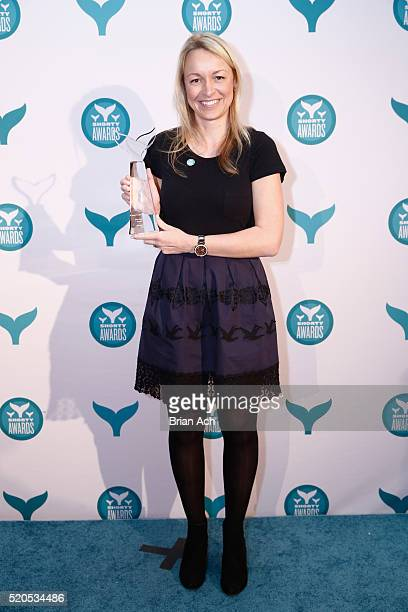 Beats by Dre PMG accepting award for Best Use in Meme at The 8th Annual Shorty Awards at The Times Center on April 11 2016 in New York City