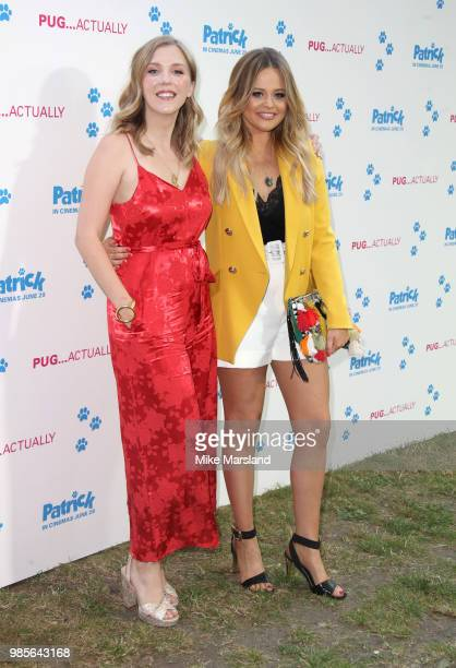 Beattie Edmondson and Emily Atack attend the UK premeire of 'Patrick' at on June 27 2018 in London England