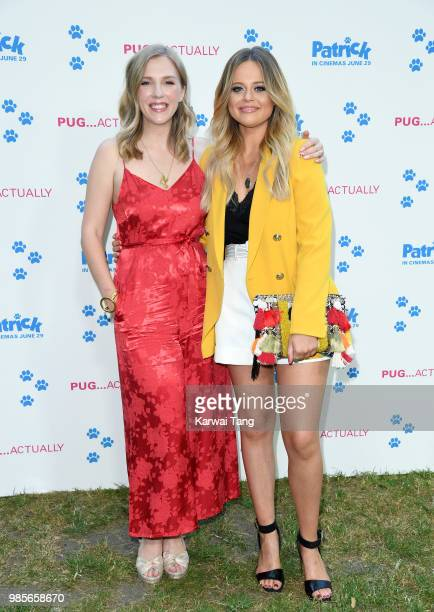 Beattie Edmondson and Emily Atack attend the UK premiere of 'Patrick' on June 27 2018 in London England