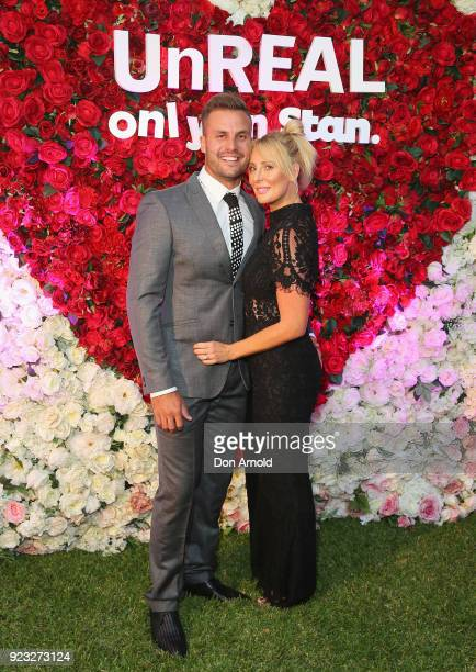 Beau and Kara Ryan attend the UnREAL Australian Premiere Party on February 23 2018 in Sydney Australia