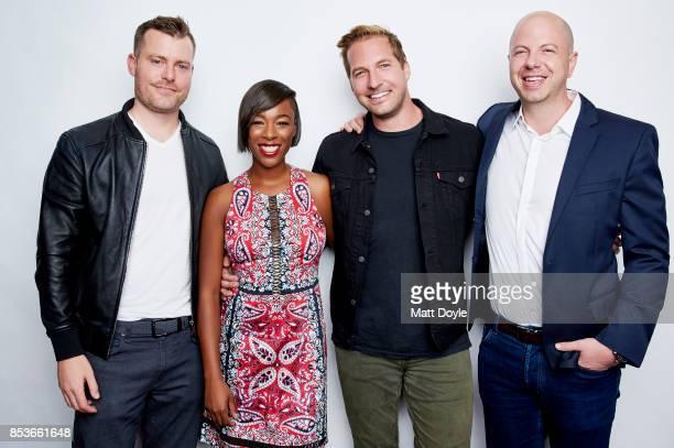 Beau Bauman Rawson Marshall Thurber Samira Wiley and Ryan Hansen pose for a portrait at the Tribeca TV festival at Cinepolis Chelsea on September 23...